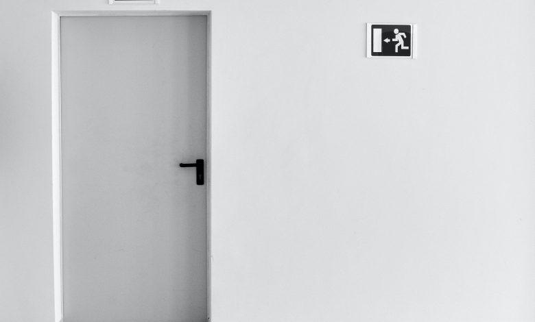 Photo of Deurbeslag in het zwart